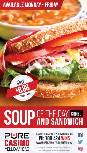 Soup And Sandwich of the Day